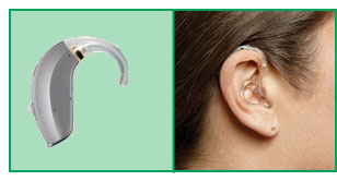 BTE Hearing Aid Model & Size