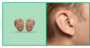 CIC Hearing Aid Model & Size