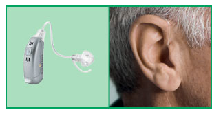RIC Hearing Aid Model & Size
